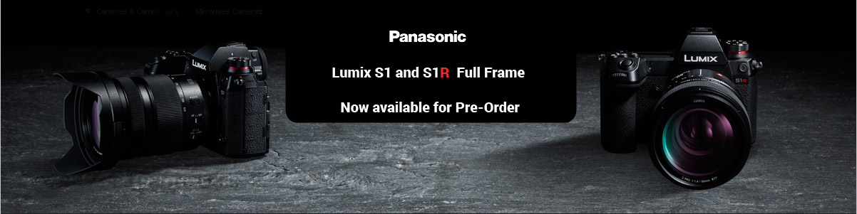 Panasonic S1 product shot