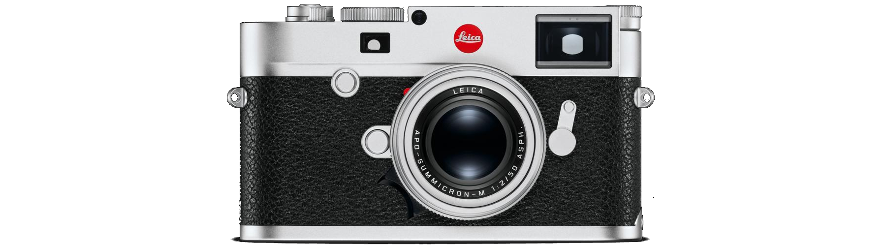 Leica M10 chrome product shot
