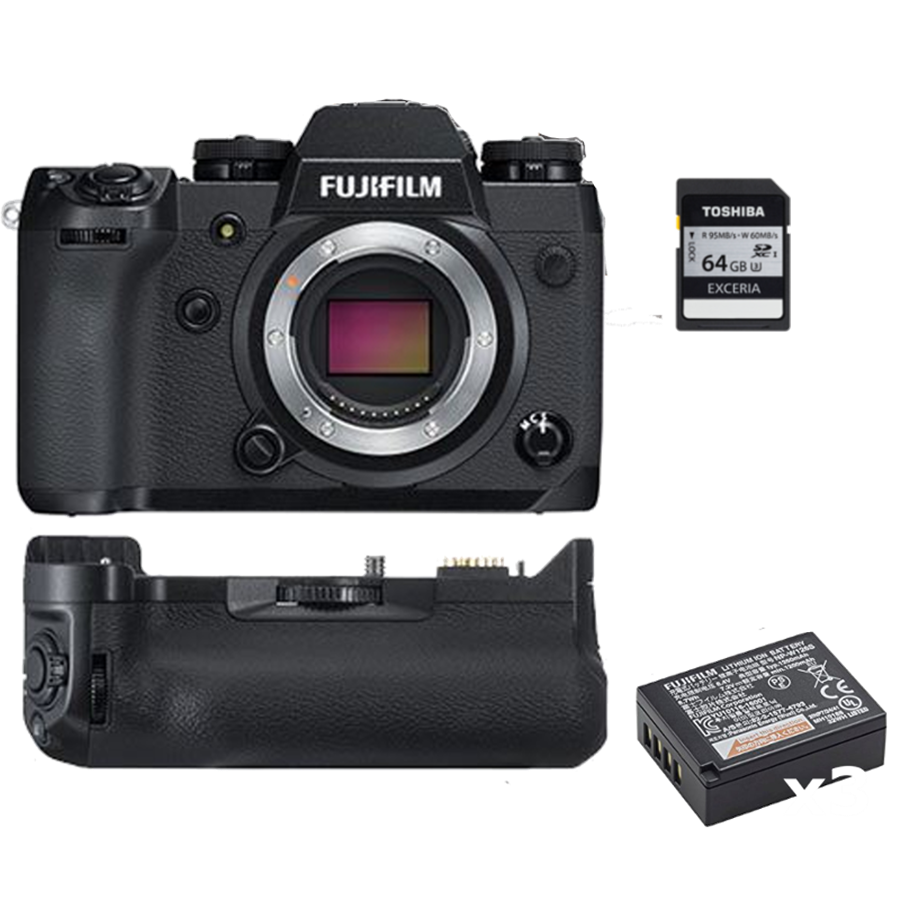 Fuji XH1 product shot